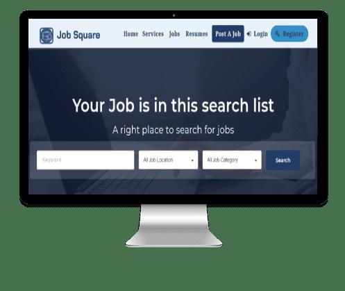 JobSquare Screen Banner