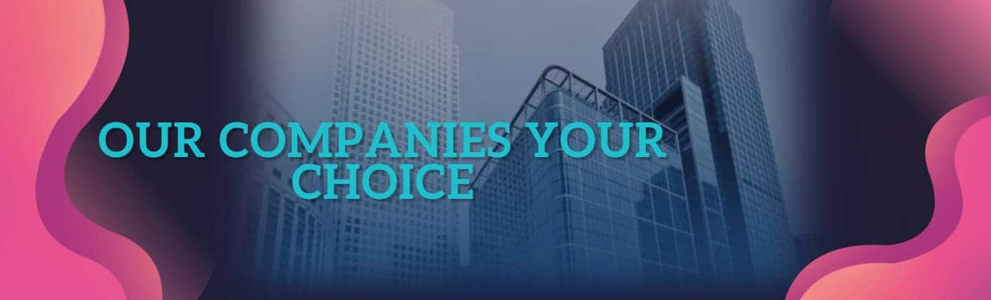 Our Companies Your Choice
